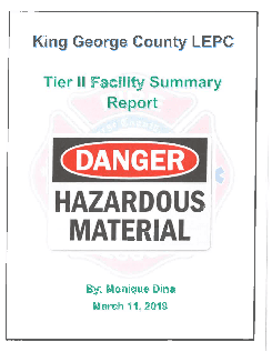 HAZARDOUS MATERIALS REPORT