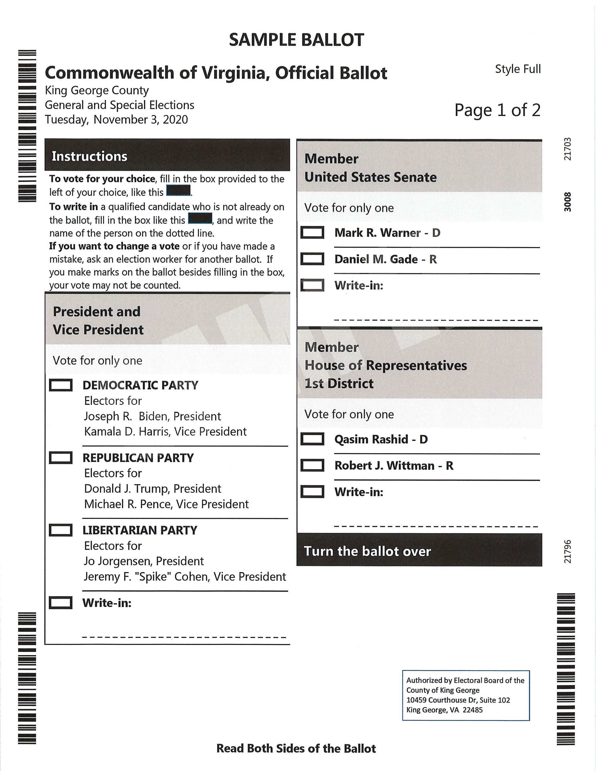 Sample Ballot - Full Pg1