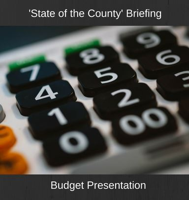 County Budget Briefing - Dr. Young