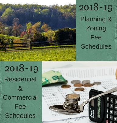 2018-19 Budget Fee Schedules