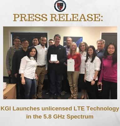 KGI LTE Press Release