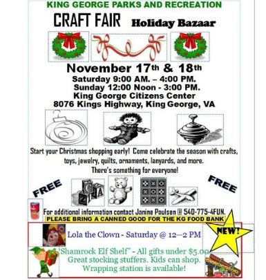 Craft Fair Holiday Bazaar 2018