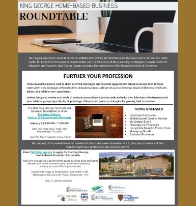 Home-Based Business Roundtable