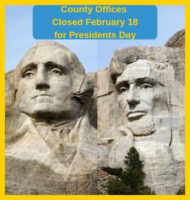 Presidents Day Holiday - February 18, 2019