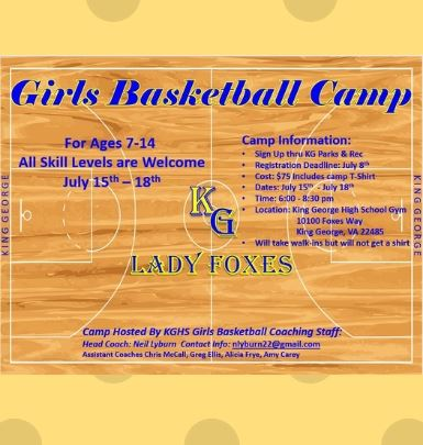 Girls Basketball Camp 2019