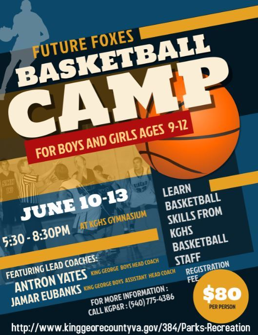 2019 Youth Basketball Camp 9-12 year olds