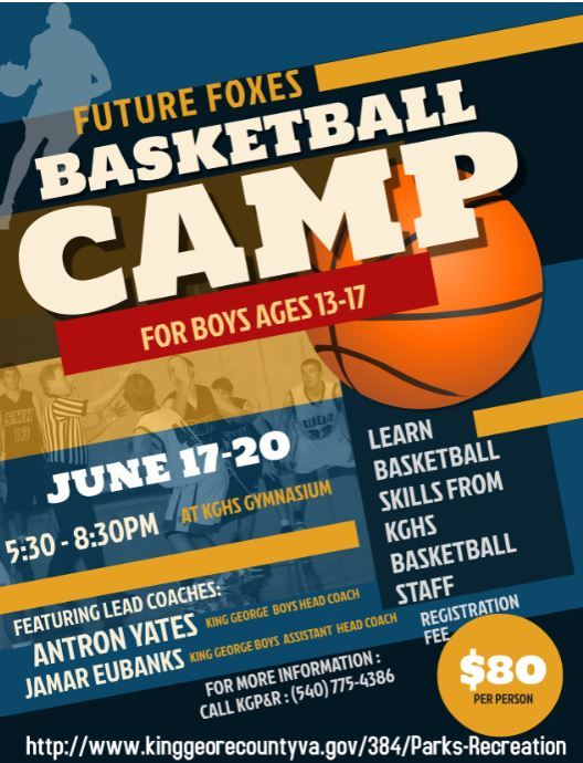 2019 Youth Basketball Camp 13-17 year olds