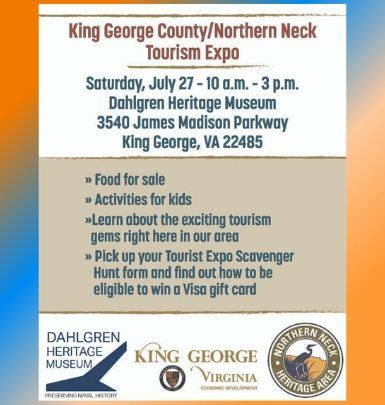 KG County - Northern Neck Tourism Expo Flyer