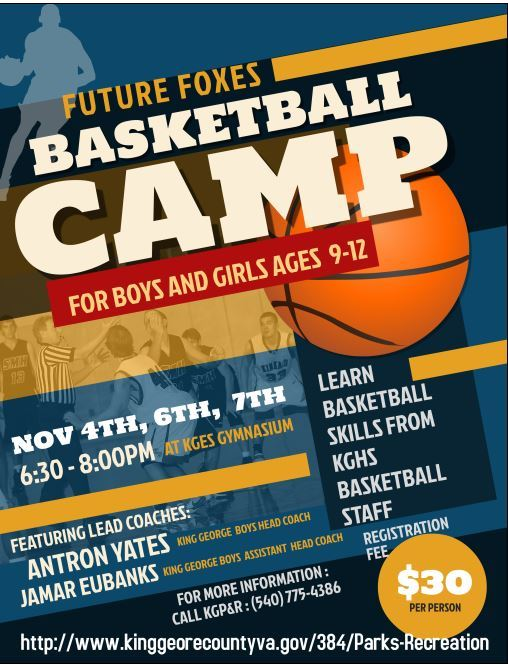 2020 Youth Basketball Future Foxes Clinic